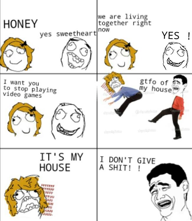 Gtfo Gf Meme By Youcefislam55 Memedroid
