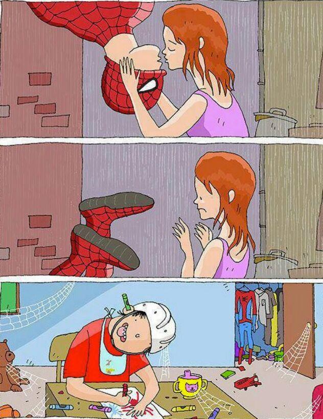 poor poor spider man - meme