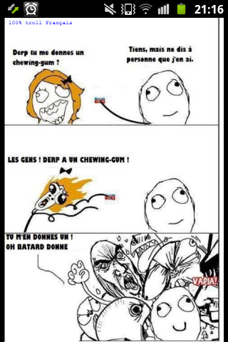 les chwing-gum... - meme