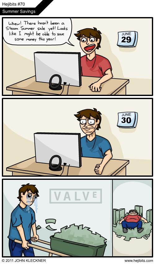 Steam sale - Meme subido por darkdragon345 :) Memedroid