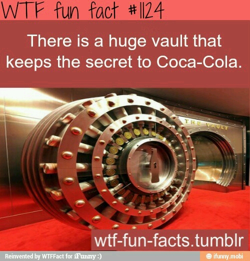 Coca-cola's Secret - meme