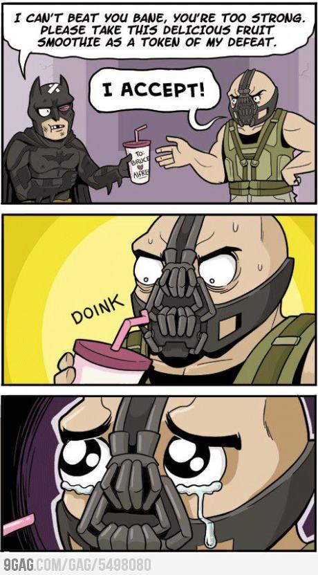 Poor Bane :'( - meme