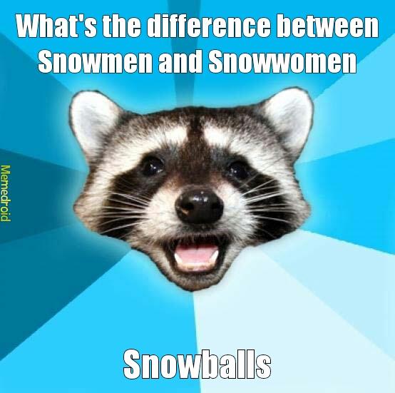 snowmen - meme