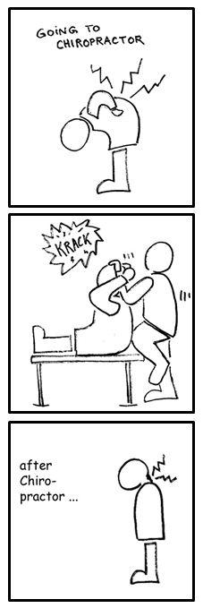 Chiropractor... - meme