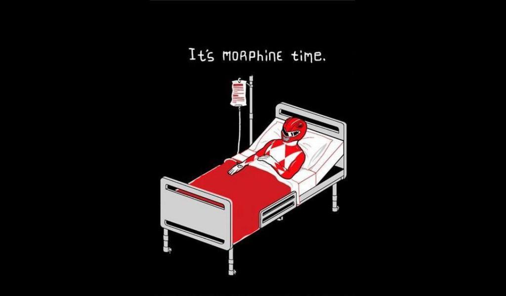 Morphine time - meme