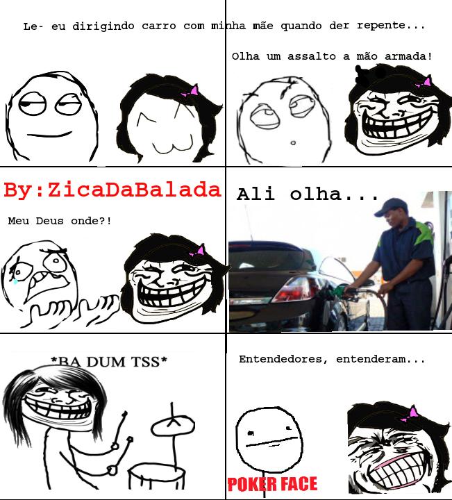 gasolina cara '-' - meme