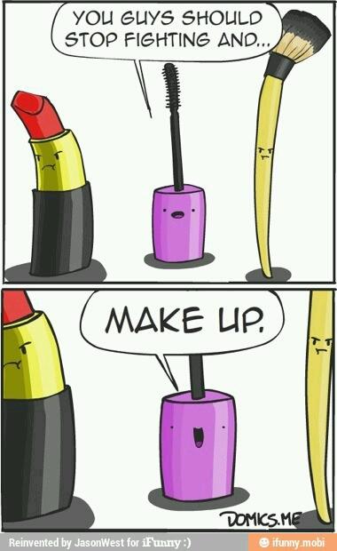 Makeup - meme