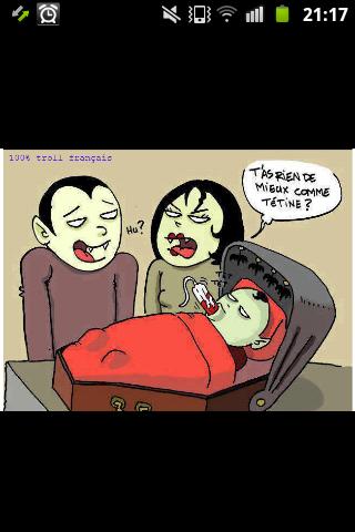 les vampires - meme