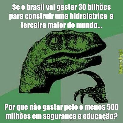 Que vergonha BRASIL! - meme