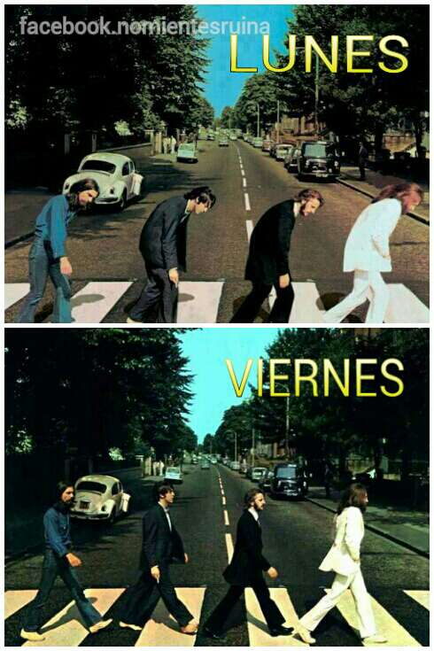 Lunes...Viernes... - meme
