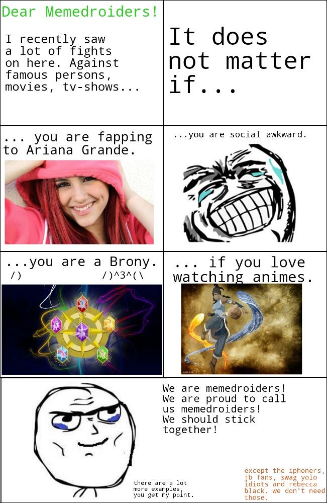 I love you all! - meme