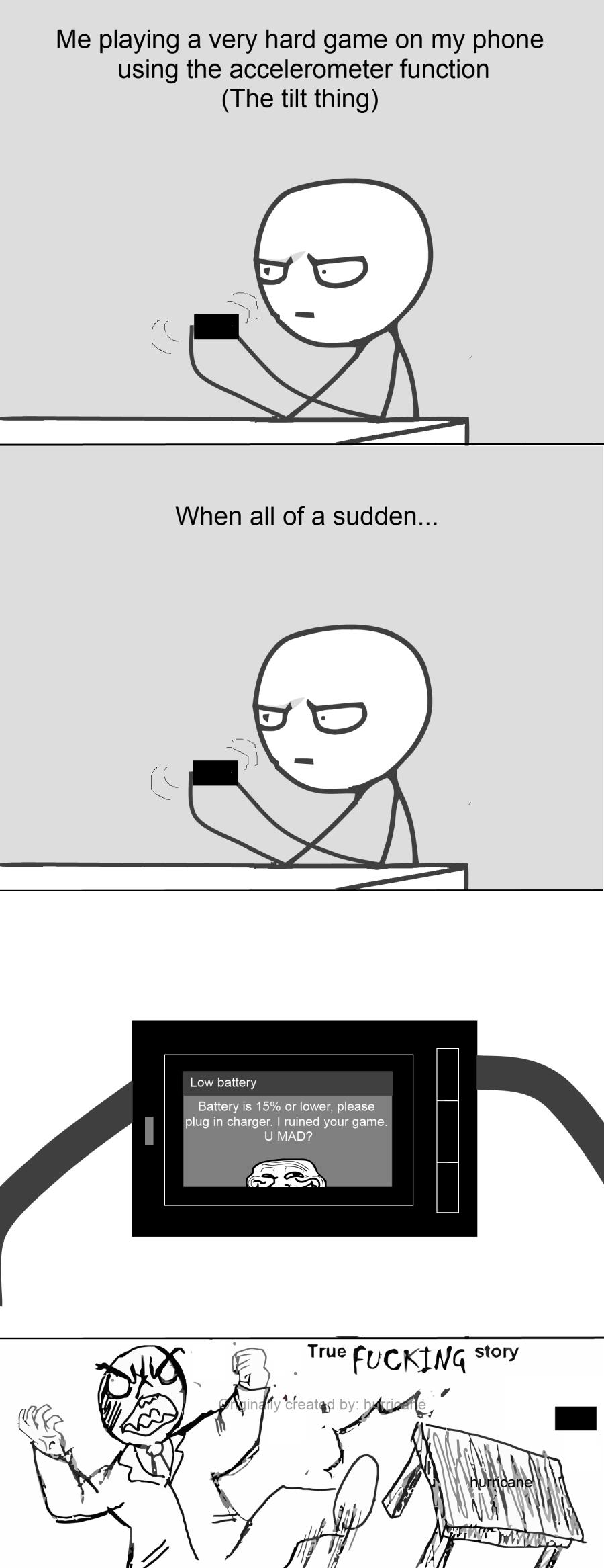 Phone Rage - meme