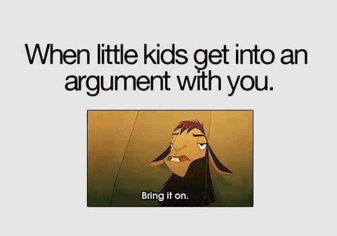 slap and then explain to the kid - meme