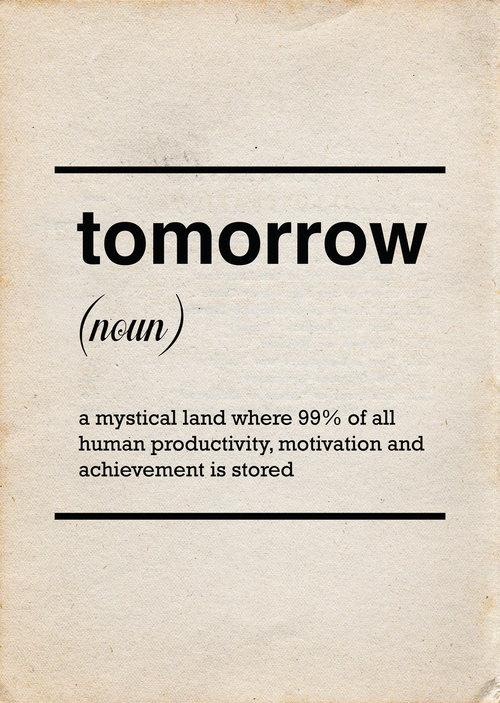 tomorrow - meme